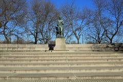 亚伯拉罕・林肯雕象 免版税库存图片