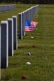 亚伯拉罕墓地日林肯国民退伍军人 库存照片