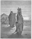 亚伯拉罕送Hagar和Ishmael