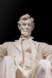 亚伯拉罕・林肯关闭 免版税库存图片