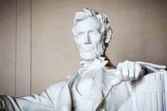 亚伯拉罕・林肯雕象  免版税库存照片