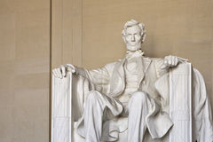 亚伯拉罕dc林肯纪念品华盛顿 免版税图库摄影