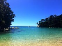 亚伯新的tasman西兰 免版税库存照片