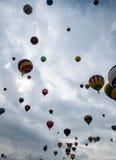 亚伯科基气球节日发射2015年 库存图片