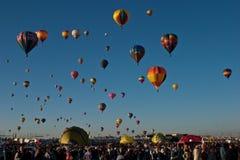亚伯科基气球节日国际 图库摄影
