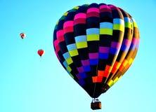 亚伯科基气球节日在新墨西哥 免版税库存照片