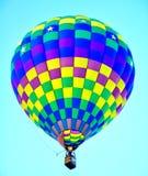 亚伯科基气球节日在新墨西哥 图库摄影