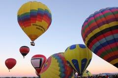 亚伯科基气球节日 库存图片