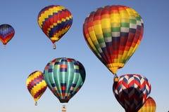 亚伯科基气球节日 库存照片