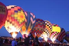 亚伯科基气球节日 免版税图库摄影
