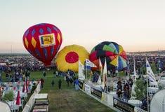 亚伯科基热空气气球节日 库存照片