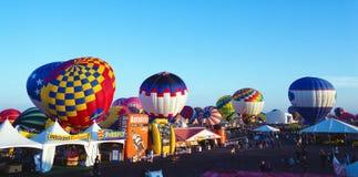 亚伯科基热空气气球节日 图库摄影