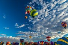 亚伯科基热空气气球节日2016年 免版税库存照片