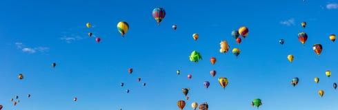 亚伯科基热空气气球节日2016年 库存照片