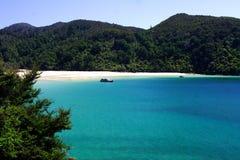 亚伯tasman吠声的海湾 免版税库存图片