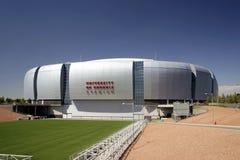 亚利桑那主教橄榄球nfl体育场 库存照片