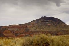亚利桑那五颜六色的地产 免版税库存照片