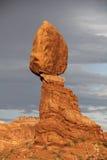 亚利桑那倾斜的岩石 免版税库存照片