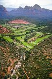 亚利桑那国家(地区)高尔夫球 库存图片