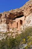 亚利桑那城堡montezuma 免版税库存图片
