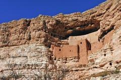 亚利桑那城堡montezuma 库存图片
