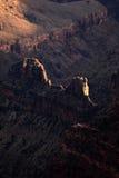 亚利桑那大峡谷北部外缘 库存照片