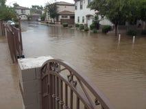 亚利桑那季风季节在菲尼斯 免版税库存照片