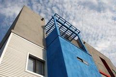 亚利桑那家庭顶楼现代样式 免版税库存图片