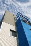 亚利桑那家庭顶楼现代样式 库存照片