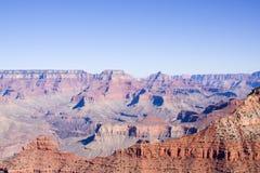 亚利桑那峡谷全部日落 图库摄影