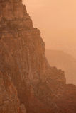 亚利桑那峡谷全部日落 免版税库存图片