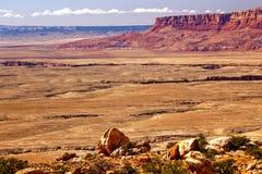 亚利桑那峡谷全部mesa红色 免版税库存图片