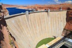 亚利桑那峡谷水坝幽谷 库存图片