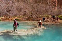 亚利桑那峡谷havasu 免版税库存照片