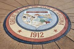 亚利桑那州的国玺 免版税图库摄影