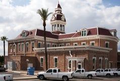 亚利桑那市政厅pinal 免版税库存照片