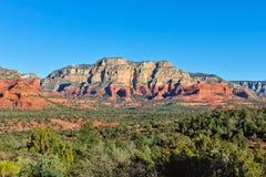 亚利桑那形成mesa岩石 免版税库存照片