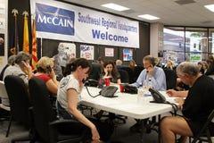 亚利桑那总部设mccain 免版税图库摄影