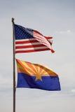 亚利桑那标志美国 免版税库存图片