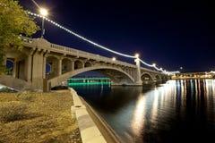亚利桑那桥梁坦佩 免版税库存照片