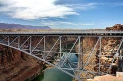 亚利桑那桥梁峡谷大理石那瓦伙族人 库存照片