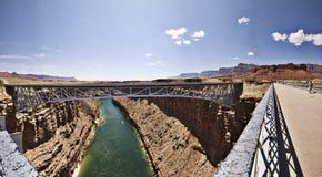 亚利桑那桥梁 库存照片