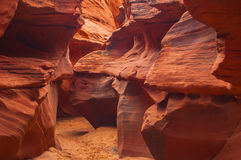 亚利桑那槽孔峡谷 免版税库存图片