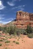 亚利桑那沙漠山sedona 免版税库存照片