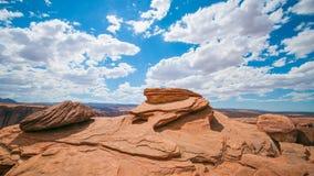 亚利桑那沙漠岩层 免版税库存图片