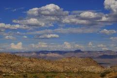 亚利桑那沙漠春天6 库存图片