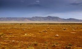 亚利桑那沙漠横向 免版税库存图片
