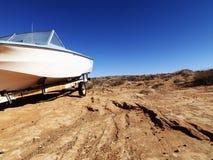 亚利桑那沙漠汽艇 免版税库存照片