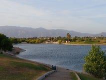 亚利桑那湖边 库存图片