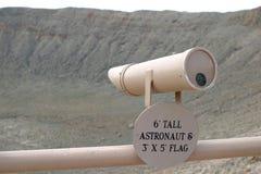 亚利桑那火山口飞星 库存照片